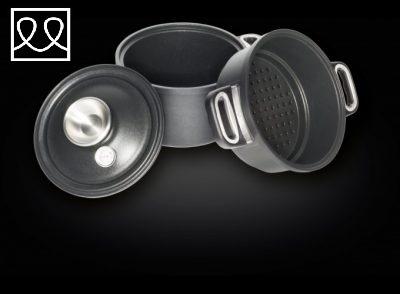 Waterless cooking set item 1220-SET – induction